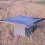 Upcycle table 1988