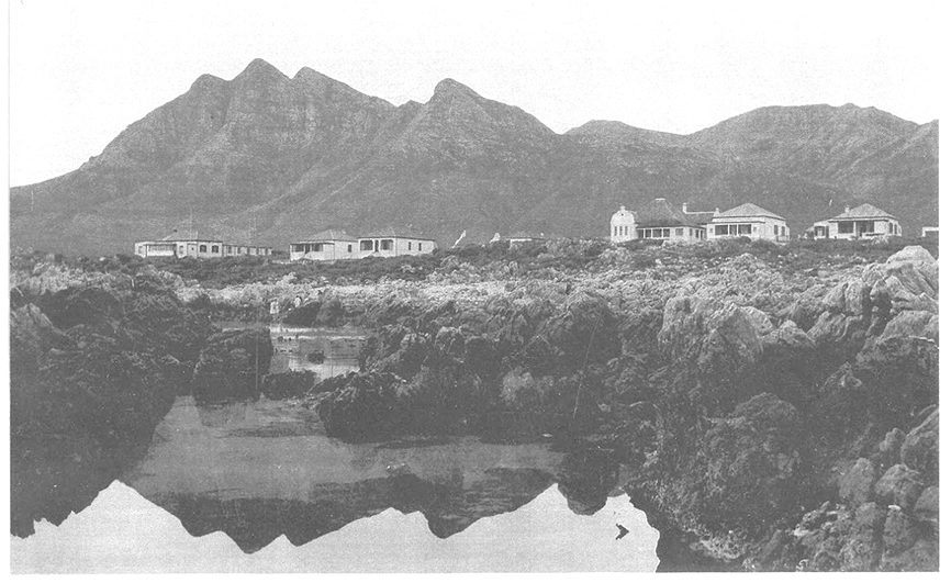 Historic photograph of Kusweg, Kleinmond, unknown