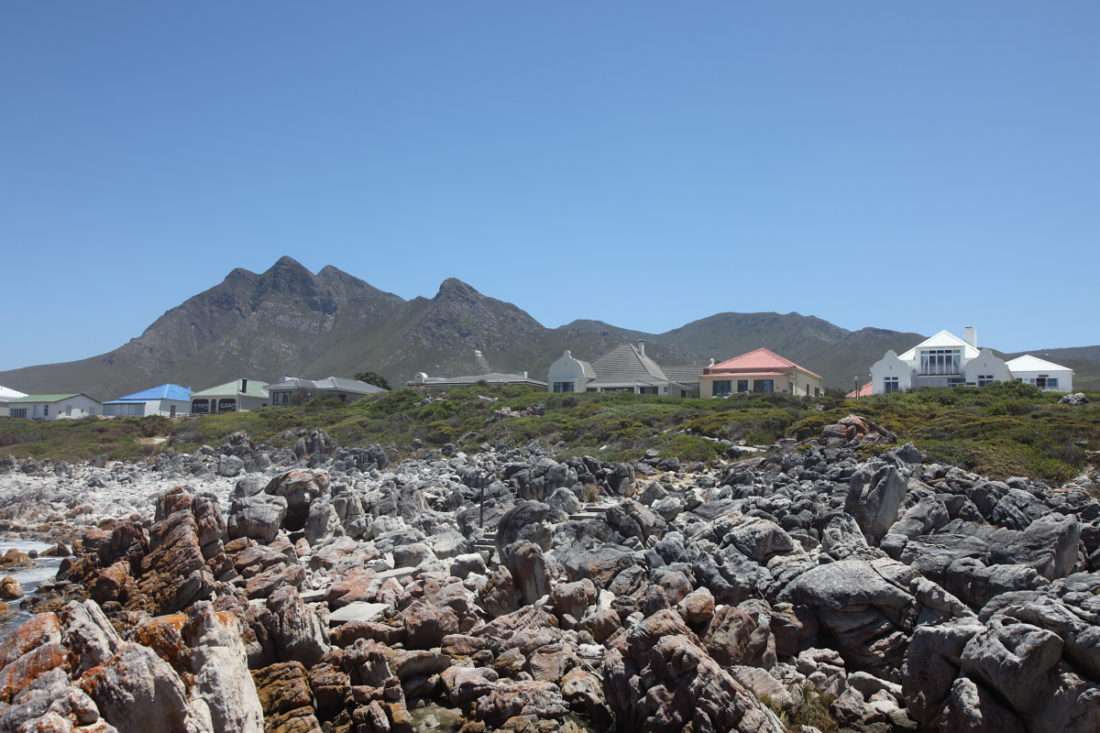View of Kusweg, Kleinmond, 2015