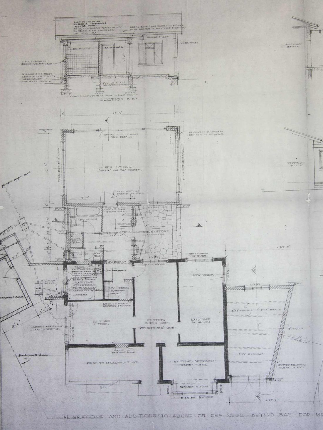 1970 Additions by Day and De Wet architects to the 1943 structure