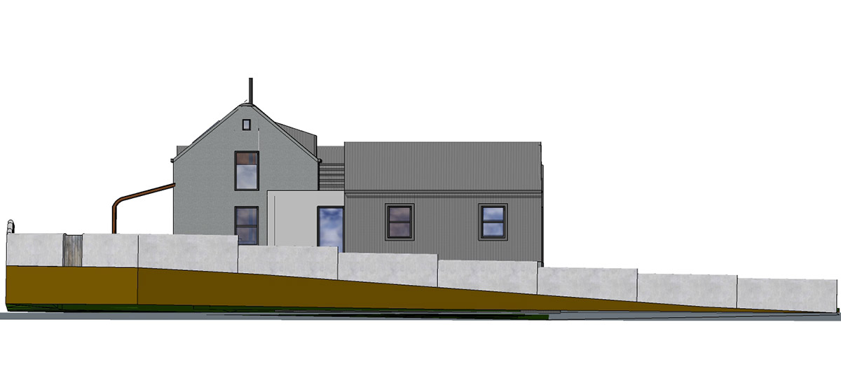 Proposal of East Street Elevation
