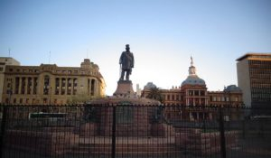 Paul Kruger Statue in Church Square