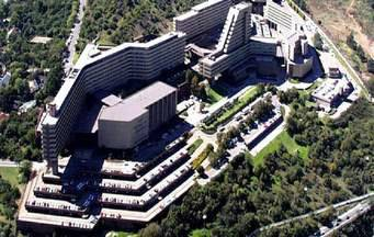 Aerial photograph of UNISA, Muckleneuk Campus