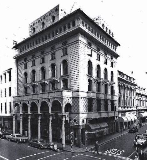Historic photograph of New Zealand House