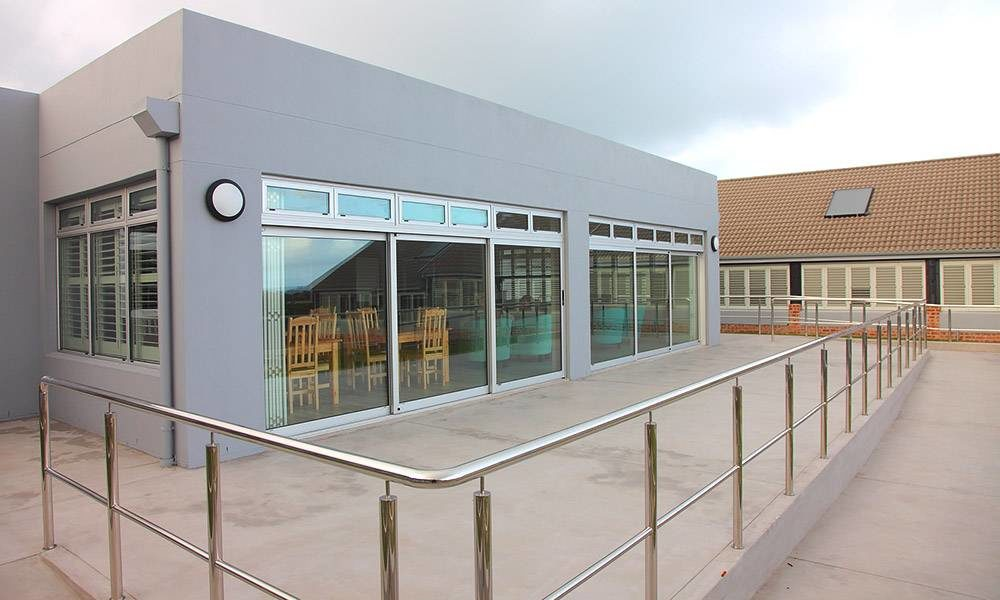 New communal building