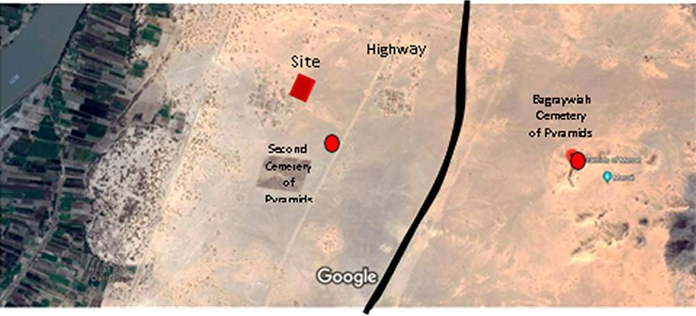Proposed project site at Bagraywiah, Sudan