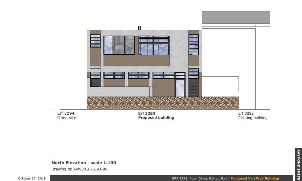 Rear street elevation