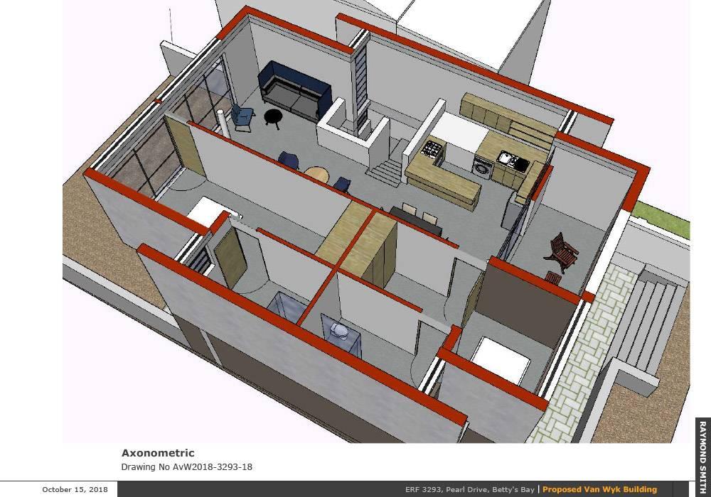 Axonometric of floor layout