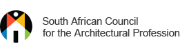 South African Council for the Architectural Profession logo